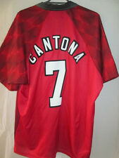Manchester United Cantona 1996-1998 Home Football Shirt Size XL & Shorts /34630