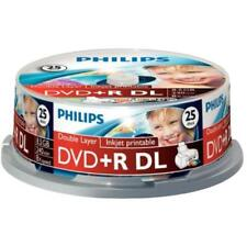 25 DVD Double Couche Philips  240 min/8.5 Go DVD + R dvd vierges  DL xbox 360
