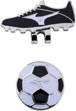 Mizuno Japan Golf Ball Cap Clip Marker Football Soccer 5LJD192300 Black