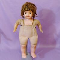 "LOVELY 17"" COMPOSITION MAMA DOLL by MADAME HENDREN  c1930"