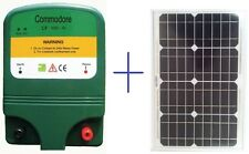Electric Fence Energiser DC 1 Joule – Up to 15Km with 10w Solar Panel (With r...