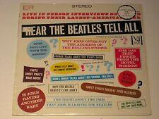 HEAR THE BEATLES TELL ALL, PRO-202 VEE-JAY STEREO SEALED
