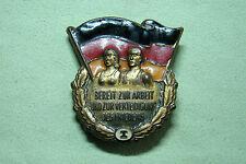 DDR Sportabzeichen - Bereit zur Arbeit und Verteidigung des Friedens - Stufe I