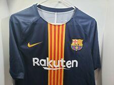 Nike Mens Barcelona Rakuten FCB BEKO Soccer Jersey Royal Blue Size XL