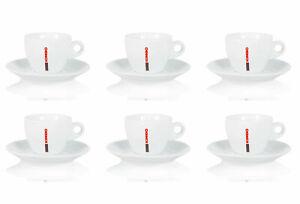 Sparset: 6x Kimbo Cappuccinotasse - Bar Collection - Kaffeetassen, Kaffeebecher