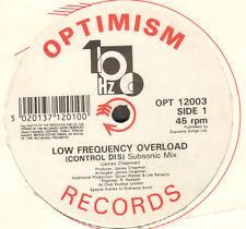 100 HZ - Low Frequency Overload - 1990 - Optimism - OPT 12003 - Uk