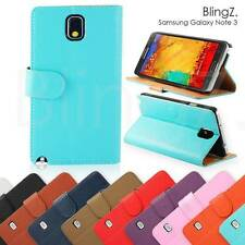 Plain Leather for Samsung Galaxy Note III Mobile Phone Cases, Covers & Skins
