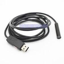 Mini 2M USB Waterproof Endoscope Borescope Snake 4 LED Inspection Tube Camera UK