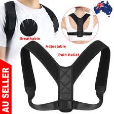 Posture Corrector Women Men Brace Back Shoulder Body Wellness Support Belt Strap