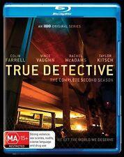 True Detective : Season 2 (Blu-ray, 2016, 3-Disc Set)