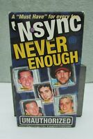 'N Sync: Never Enough Unauthorized (VHS, 1998)