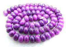 5*8mm Purple Rondelle Sugilite Loose Beads for Jewelry Making DIY Strand 15''