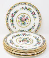 "Foley/Coalport Ming Rose - 6 x 7"" Tea/Side Plates"