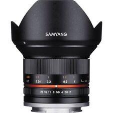Samyang 12mm F2 NCS CS Schwarz Weitwinkelobjektive Black F2,0 für Sony E-Mount