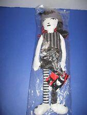 """*NEW* Emily the Strange 15"""" Rag Doll"""
