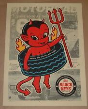 Black Keys Manchester England Concert Poster Print Methane Studios S/N 2012