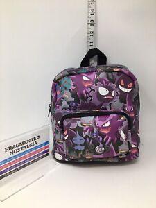 Pokemon Ghost Type Mini Backpack Loungefly NWT HTF Rare Haunter Gengar Shuppet