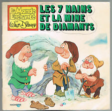 Les 7 NAINS et la MINE de DIAMANTS Walt Disney adapté par Jacques VOILIER 1979