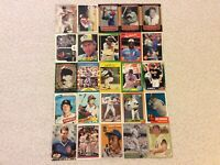 HALL OF FAME Baseball Card Lot 1980-2019 HANK AARON DEREK JETER TOM SEAVER
