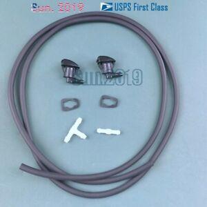 2X Windshield Washer Nozzle  For Chevrolet Malibu 08-12 Pontiac G6 05-10, Aura