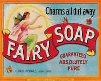 Fairy Soap - VINTAGE ADVERTISING ENAMEL METAL TIN SIGN WALL PLAQUE
