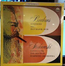 EVEREST Brahms STOKOWSKI Symphony #3  SDBR-3030 ***New sealed!
