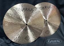 "Istanbul Agop Traditional Jazz 14"" Hi Hat Cymbals"