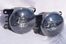 LED Clear Lens Fog Driving Light Lamps One Pair for 2015 2016 2017 Mustang