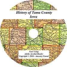 1883 History & Genealogy of TAMA COUNTY IOWA Toledo IA biographies families