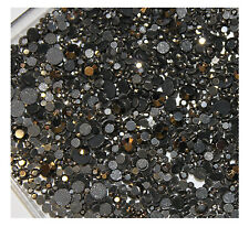 Strass  HEMATITE 500 ex mélange s6+ s10+ s16+ s20 HOT FIX RHINESTONE mixed