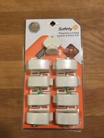 Safety 1st Magnetic Locking System 9 Piece Set Baby Proofing HS133 Cabinet Doors