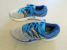 "Saucony ""Progrid Omni 16"" Gray and Blue Running Shoes - Women's 10 Wide"