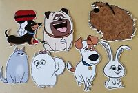 The Secret Life Of Pets Card Making Toppers Die Cuts 7 Pieces Embellishments