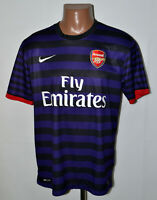 ARSENAL LONDON 2012/2013 AWAY FOOTBALL SHIRT JERSEY NIKE SIZE L ADULT