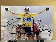 Lance Armstrong Signed Autograph 4x6 Photo Tour De France Cycling Bike Race