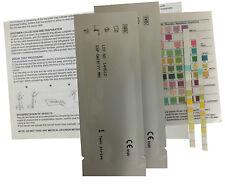 Urinalysis 10 Parameter Professional/GP Urine Test Sticks - 2 Test Strips