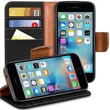Schutzhülle Apple iPhone 6 6s hülle Flip Case Handy Tasche Klapphülle Book Cover