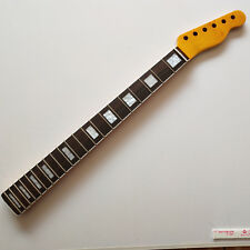 21 Frets Tele maple Electric Guitar Neck rosewood fretboard inlay block