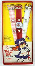 1974 Polly Pal the Gingham Gal Character Watch w/ Original Box