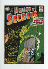 HOUSE OF SECRETS #64 VG+ MARK MERLIN GHOST COVER - ECLIPSO - 1964