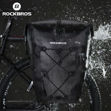 RockBros Riding Rear Seat Carrier Bicycle Waterproof Pannier Bag 1pcs UK Stock