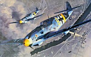 "1/48 WW2 Fighter: Messerschmitt Bf-109G-6 ""Mullepux""  [Germany] #48002 :FUJIMI"