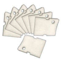 Replacement Hydor 250 / 350  White Fine Filter Pads - 8 Pack