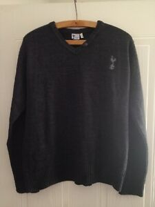 TOTTENHAM HOTSPUR FOOTBALL Jumper Vintage RETRO Sweatshirt Ultra Rare Mens Top