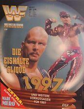 WWF Magazin 1/97 WWE Wrestling deutsch