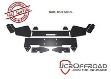 JCR Offroad DIY Front Winch Bumper - Bare Metal - for 1984-2001 Jeep Cherokee XJ