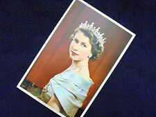 LOVELY OLD PPC: H.M. QUEEN ELIZABETH II~PORTRAIT BY KARSH, OTTAWA