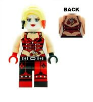Custom Designed Minifigure - Harley Quinn Version 2 Printed On LEGO Parts