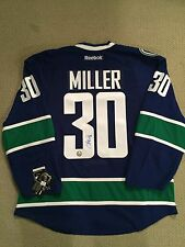Ryan Miller Signed Vancouver Canucks Authentic Pro Reebok Jersey w/ COA