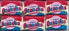 1996 Topps Bazooka Bubble Gum 6 Sealed Sticks-NIW